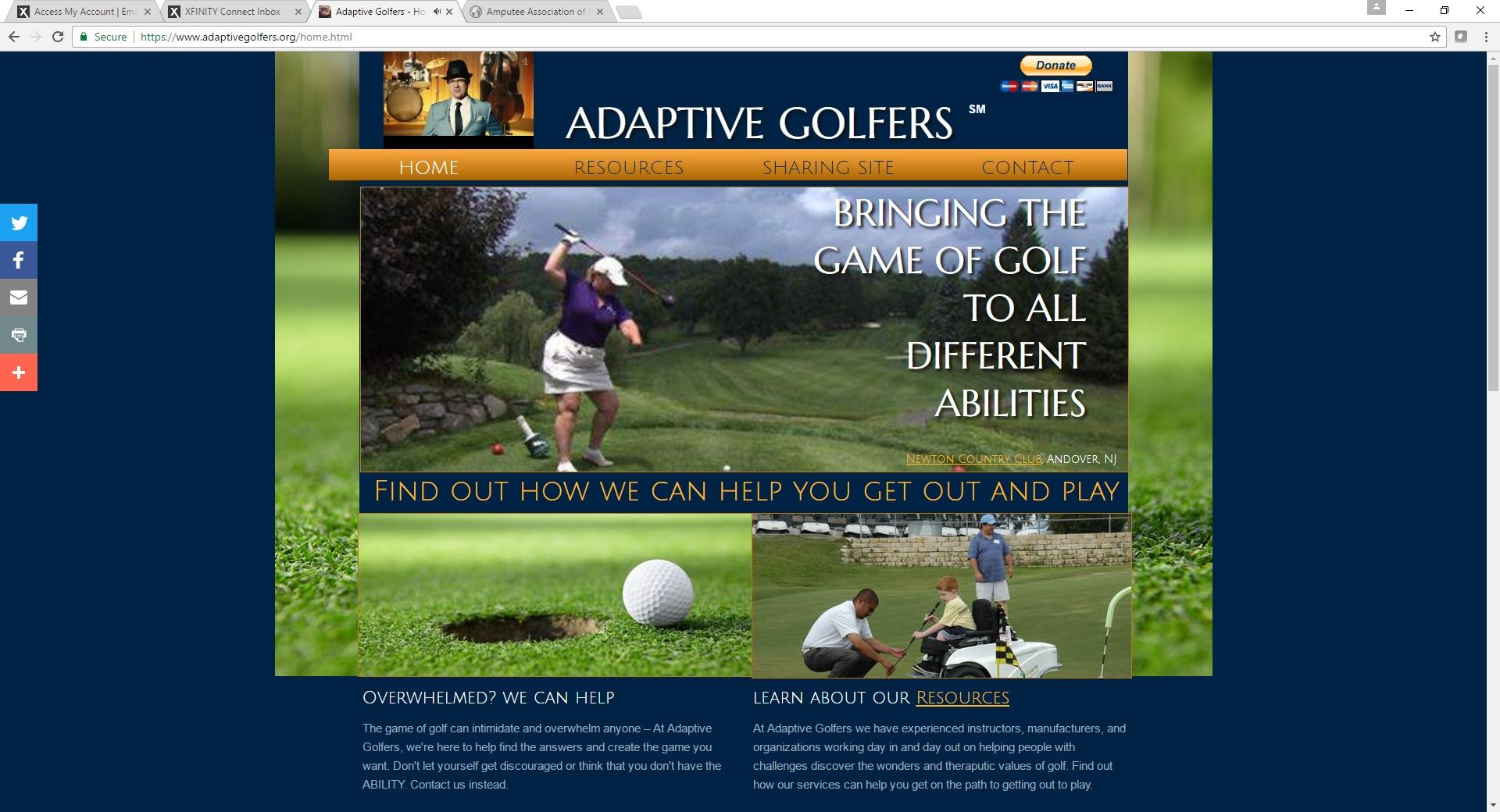 Adaptive Golfer picture